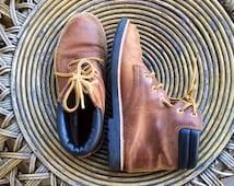 Amazing vintage 1980's Esprit ankle boots womens s size 7/7.5