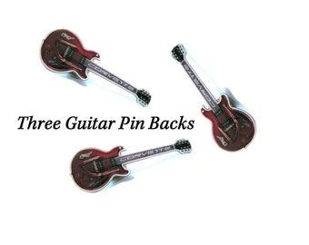 Guitar Pins, Auto Advertising,  Corvette anniversary pin, Chevrolet Pins, Chevy Corvette Jewelry - S51