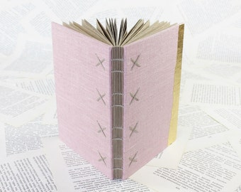 Pink and Gold Hardcover Journal