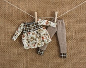 Knapweed Tunic and Pants set for Middie Blythe