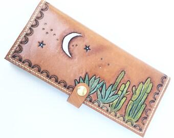Custom Order Leather Wallet