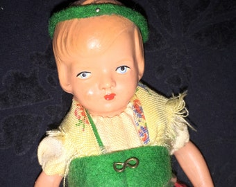 Vintage Celluloid Doll