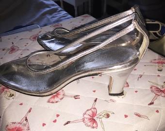 Vintage Saks Fifth Avenue Fenton Last Clear Shoes