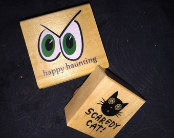 Halloween Rubber Stamps