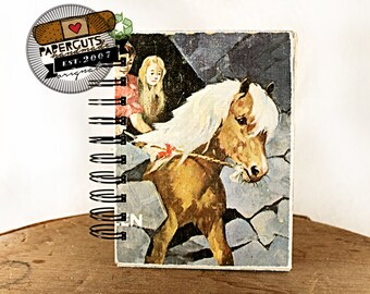 My Little Pony - Wire-Bound Recycled Art Journal