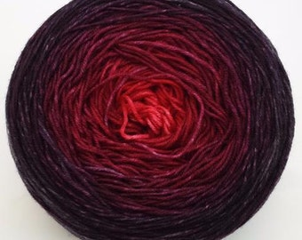 Vampire Boyfriend Chromatic Gradient, 150g Lavish, dyed to order
