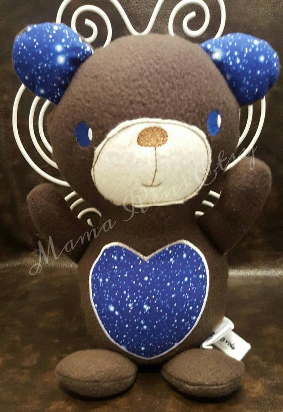 READY To SHIP Stellar night sky Teddy Bear