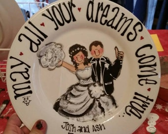 one of a kind, personalized wedding gift