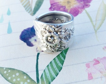 Jubilee Spoon Handle Ring