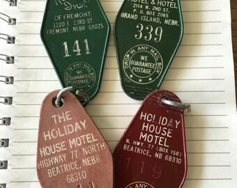 1970 Vintage Hotel Key Fob
