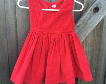 60s Corduroy Dress 2T