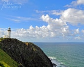 lighthouse photo, lighthouse art, lighthouse decor, Byron Bay photo, Australia photo, Byron Bay lighthouse, light house photo