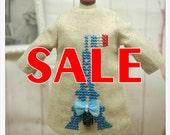 SALE~~Ladybird House Blythe Outfit Embroidery Dress - B
