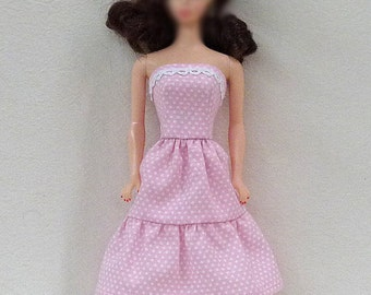 "Pink 11.5"" fashion Doll Dress"