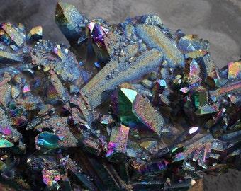 Titanium Quartz Specimen