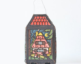 Vintage Paper Lantern, Hansel and Gretel, Germany
