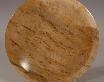 Bird's Eye Maple Bowl Turned Wooden Bowl Number 6057 by Bryan Tyler Nelson