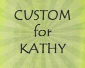 Custom Wee Beastie for Kathy