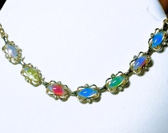 Vintage Sarah Coventry Sabrina Fair Necklace, 50's Necklace