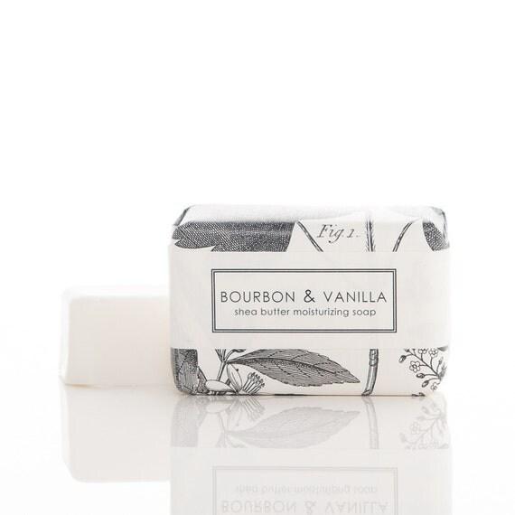 Bourbon & Vanilla Shea Butter Soap - Men's Soap - Vegan Soap