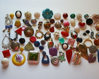 Misfit Earring Lot. 75+ Individual Earrings