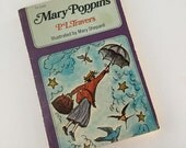 1972 Mary Poppins by P.L. Travers Illustrated by Mary Shepard