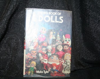 Vintage 1976 The Big Book Of Dolls SEWBUSY12