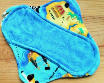 4 Moon-thly Pantyliners - Arr Pirates blue