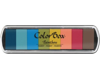 Taos ColorBox Pigment Paintbox Ink Pad 8 Colors