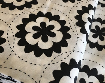 SALE fabric, Geometric Fabric, Black Fabric, White fabric, Christmas fabric, Art Gallery Fabrics, You Choose the Cut