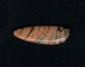 Freeform Shape Red Creek Picasso Jasper Cabochon Striking Colors