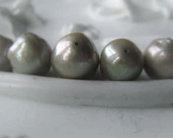 Freshwater Pearl Bead Baroque Pearl Green Bridal Pearl Item No. 0816 6557