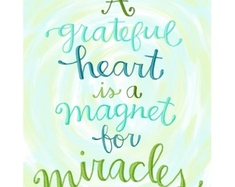 Magnet for Miracles art print