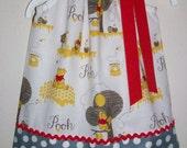 Girls Dress Pillowcase Dress Winnie the Pooh Dress Pooh Party Pooh Clothes baby dress toddler dress Pooh Bear Pooh Birthday Dress