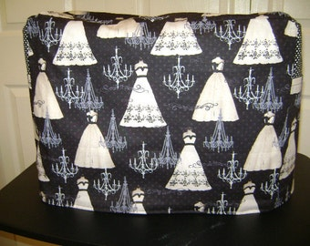 Sewing Machine Cover In Wedding Dress Of Paris  Fabric   Standard