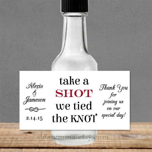 Personalized Liquor Bottle Labels 100% Waterproof Polyester