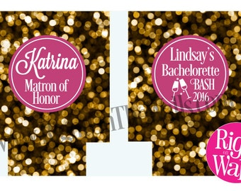 Bachelorette Party Favor, Can Hugger, Bridal Party Gifts, Personalized Can Cooler, Beer Cooler, Can Coolie, Drink Holder