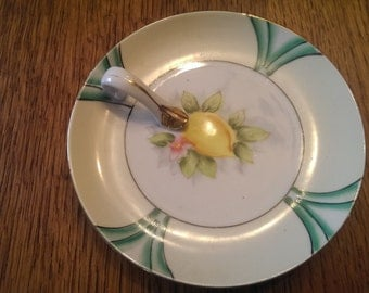 Vintage Noritake Lemon Server Lemon Wedger for Serving Lemon Wedges at Tea Time