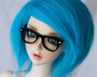 BJD Doll  wig SD Turquoise wig MonstroDesigns