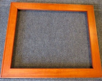 16 X 20 Quartersawn Maple Orange Dye Picture Frame
