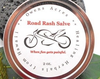 Road Rash, Skin Salve - Road Rash, Skin Rash, Raw Skin, Salve, Balm, Ointment, Moisture Barrier, Handmade Salve