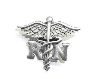 RN Nurse Caduceus JJ Nursing Hospital pin New Graduation Gift Pinning Ceremony