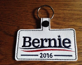 Bernie support key chain/fob