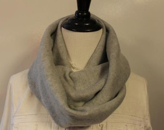 Women's Fleece Infinity Scarf Heather Gray