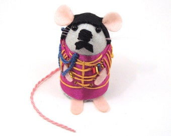 Ringo Starr The Beatles Mice Mouse ornaments Sgt. Pepper's Lonely Hearts Club Band felt mice cute gift for the Beatles fan Beatles Gift