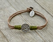 Men's Livelihood King Solomon Amulet Charm Handwoven Bracelet