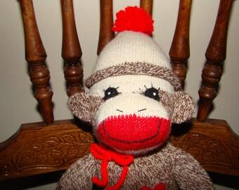 New Sock Monkey from Vintage Red Heel Socks