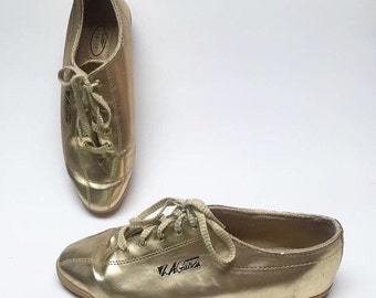 LA GEAR gold  Sneakers super clean vintage