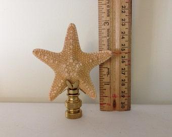 Large Starfish Lamp Finial-Finials-Lamps-Starfish-Lighting-Lamp Shades-Sea-Beach-Beach Decor-Lamp Accessory-Home and Living-Jungle Starfish