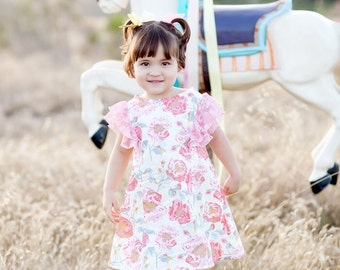 SAMPLE SALE -  Beatrice Dress in My Fair Lady - Size 12 months